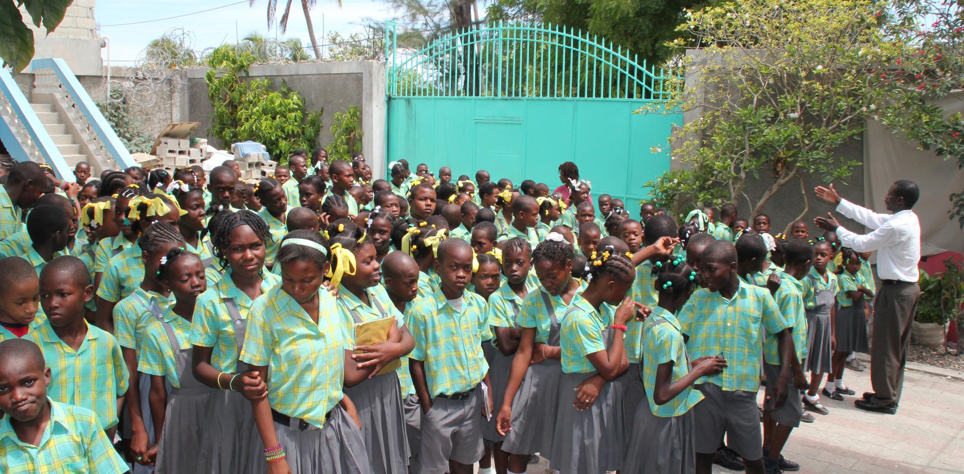 Ecole à Port-au-Prince