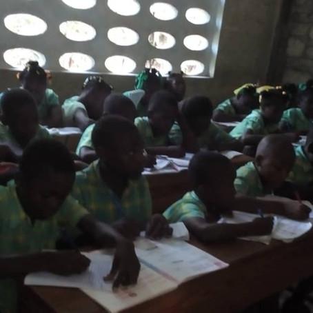 L'école de Castaches en septembre 2019