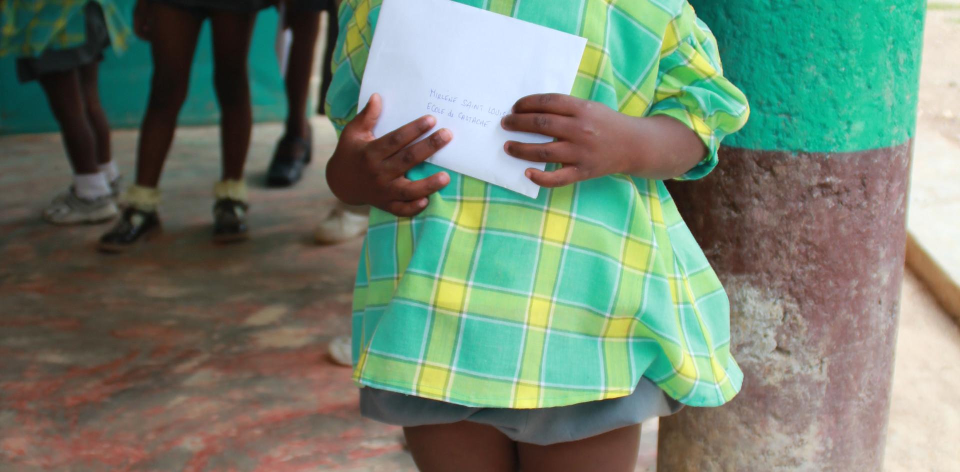 Enfant de la maternelle à Castaches