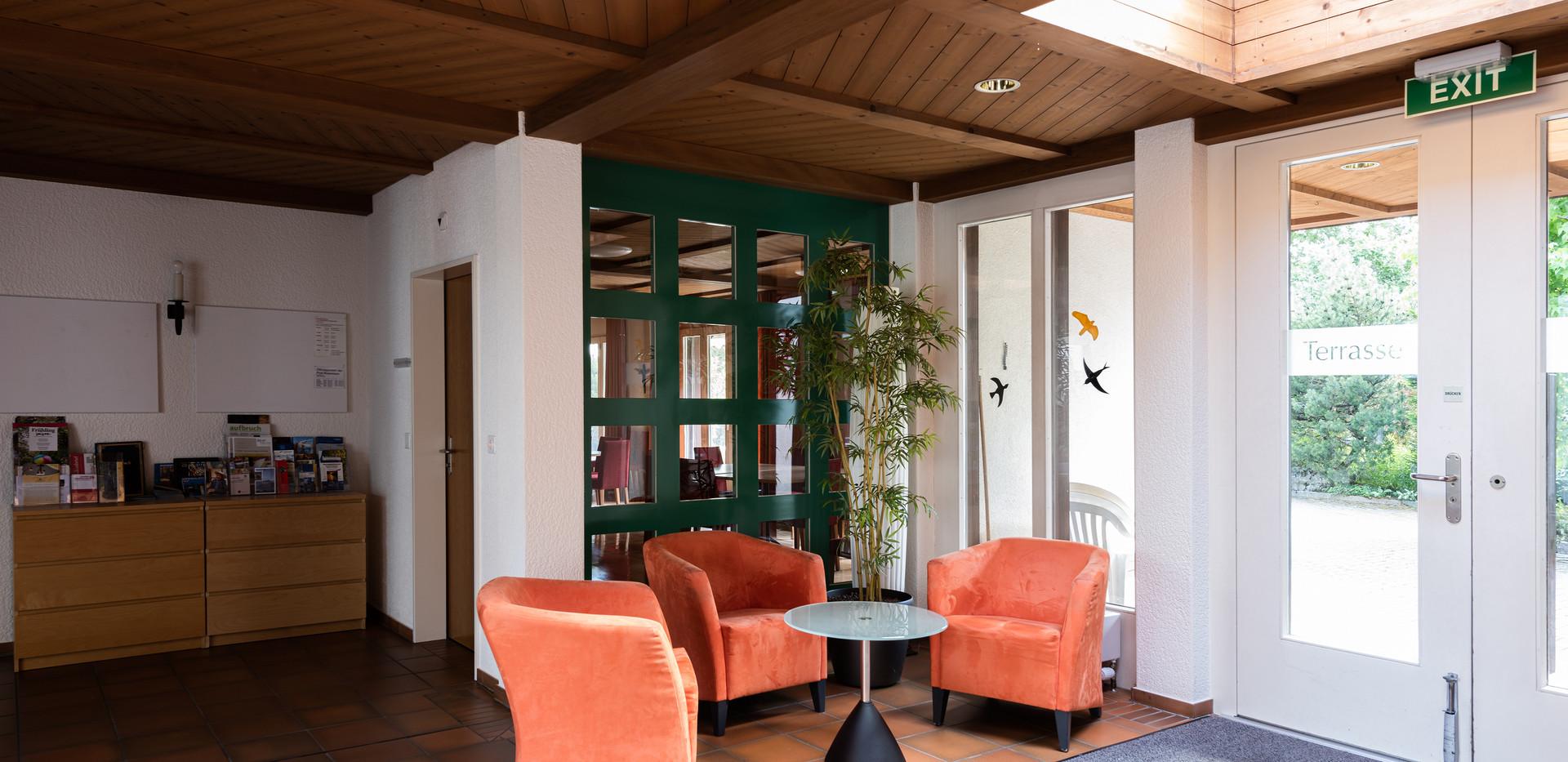 Eingangsbereich Kloster Rickenbach