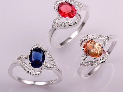 Royal Blue Romance Ring