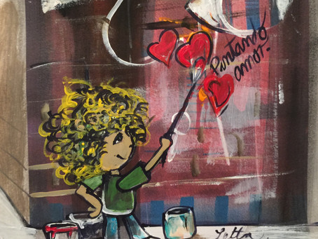 Pintando Amor  (Painting Love)