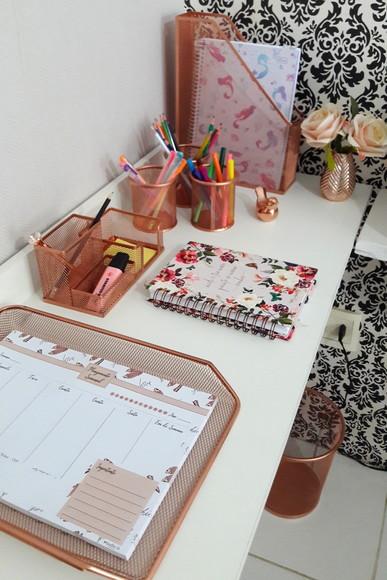Kit organizador de escritório aramado 1