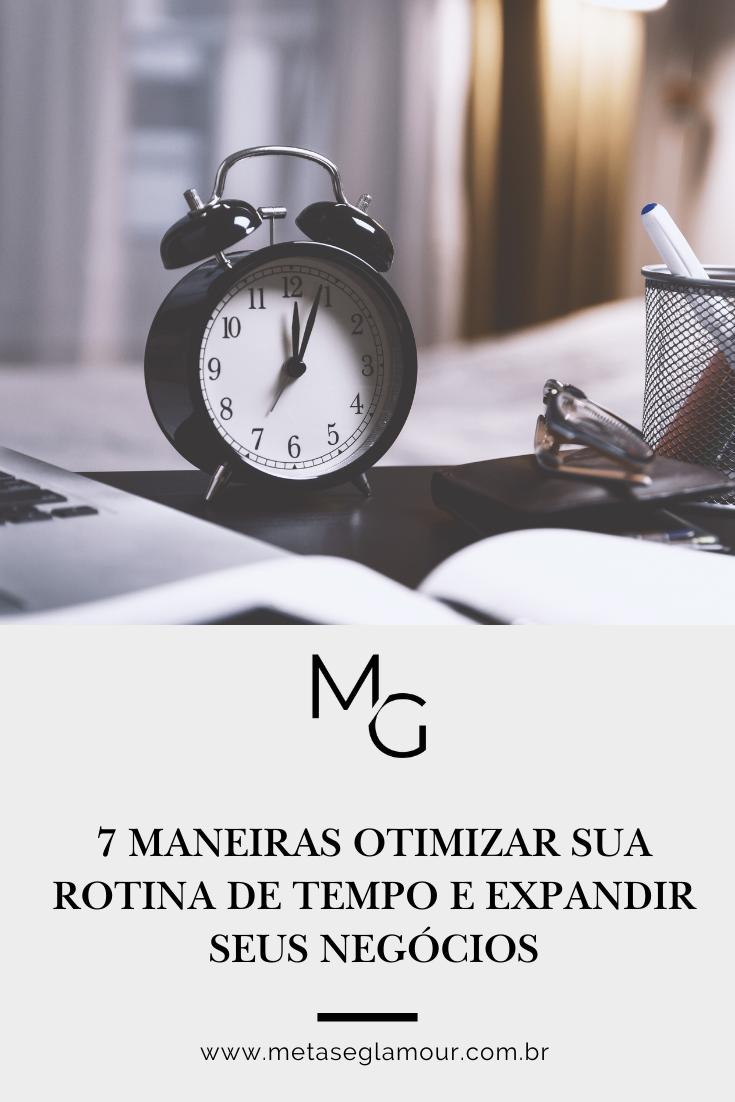 Relógio analógico para controlar o tempo