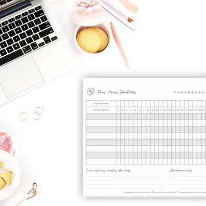 Habit Tracker: Um planner para te motivar a praticar bons hábitos