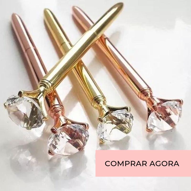 Caneta Luxo Diamante
