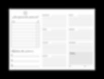 Planner Organizador Semanal  Metas & Gla