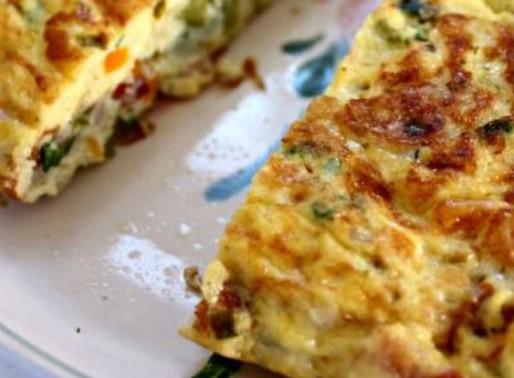 Receita para jantar saudável: Omelete de Brócolis