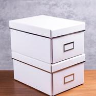 Kit de Caixa Organizadora Branca