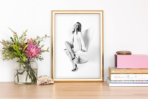 Poster Kate Moss 01 - Download imediato