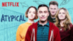 Atypical cast photo