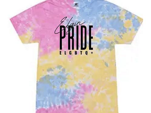 Tie Dye Elgin Pride Shirt