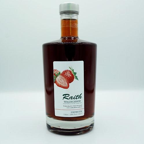 Erdbeer Likör 0,5L
