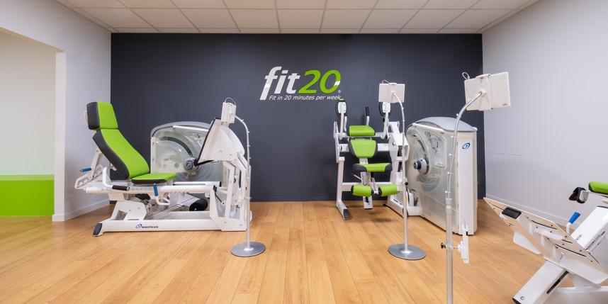Fitnessruimte Fit20
