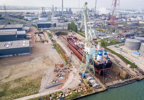 Haven Antwerpen - Drone