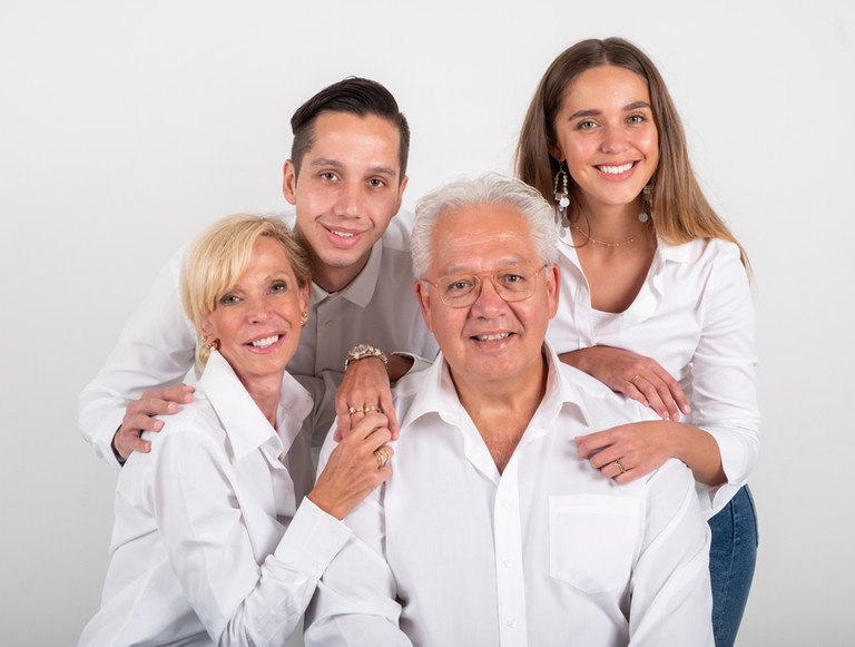 Anita en gezin