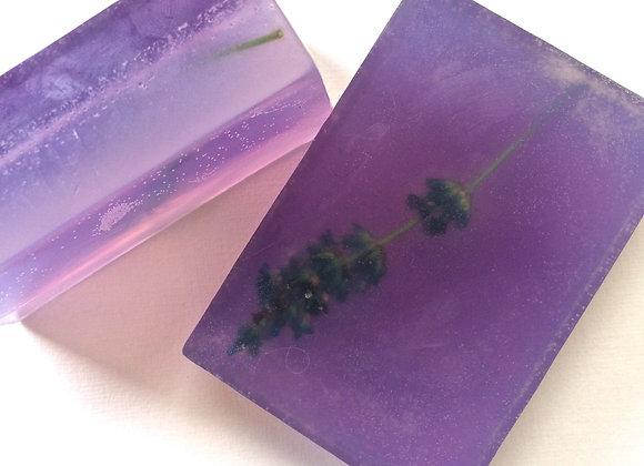 Lavender Soap with Fresh Lavender buds & Vitamin E Oil