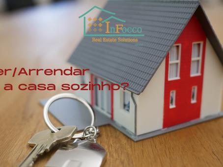 Vender/Arrendar a casa sozinho?