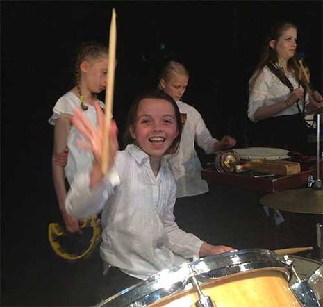 Fun on the drums