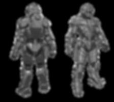 Armored Combat Exoskeleton