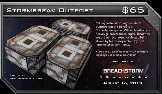 Introducing Stormbreak Outpost - Breachstorm Terrain Kit