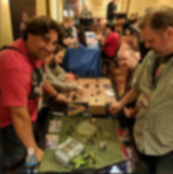 Players enjoying Breachstorm at TotalCon 2018.