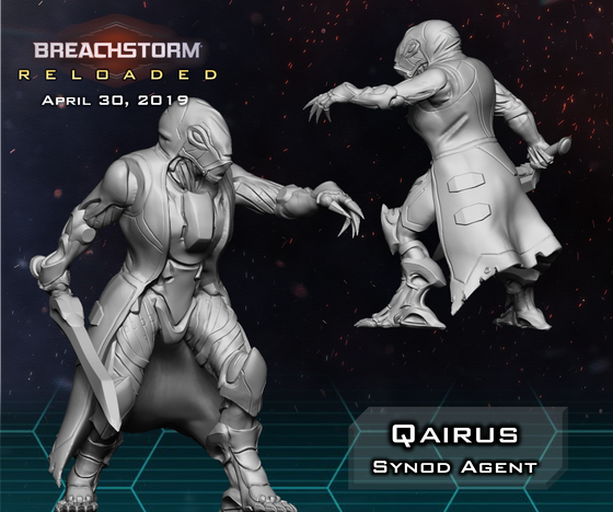 Agent of Chaos - Qairus Preview