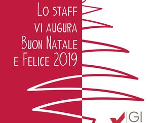 UN AUGURIO DI BUON NATALE E FELICE 2019 DA TUTTO LO STAFF di GIone