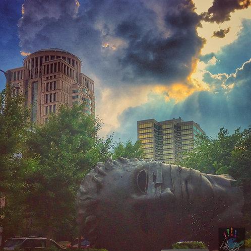 """""""Eros Bendato"""" Statue"""