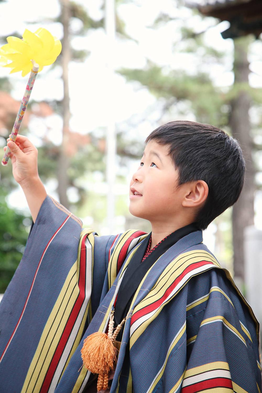 八百富神社遥拝所でロケ撮影