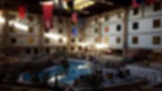 Hotel indoor pool area remodel