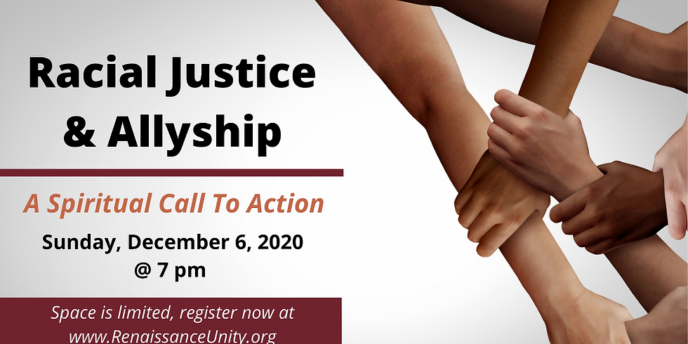 Racial Justice and Allyship as a Spiritual Call to Action