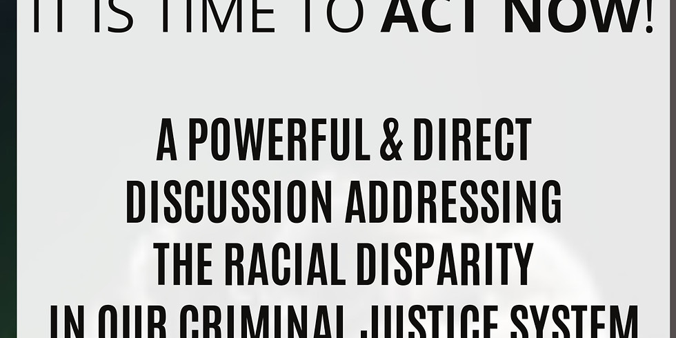 Racial Disparity in Our Criminal Justice System: Live Webinar