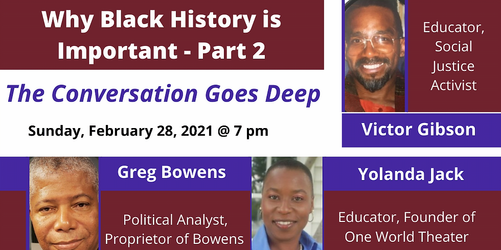 Part 2: Why Black History is Important