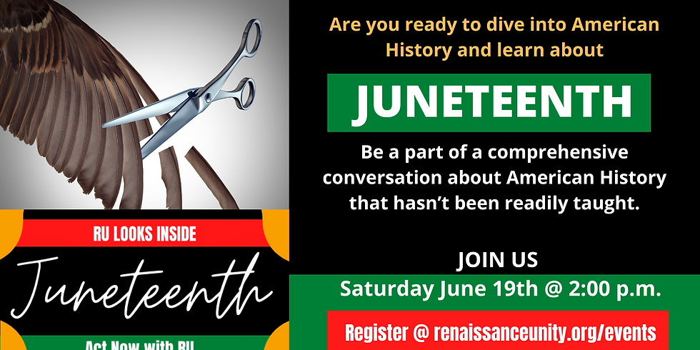 RU Looks Inside Juneteenth (Emancipation Day)