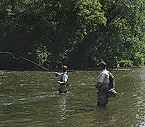 Fishermen on the River
