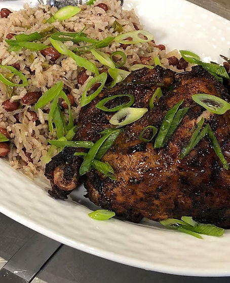 Want some Jerk Chicken_ Come check us ou