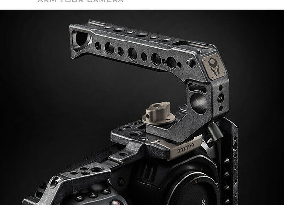 Tilta TA-T01-B-G Full Camera Cage SSD Drive Holder Top Handle for BMPCC 4K(Basi)