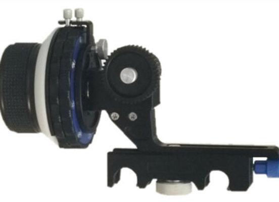 VIC Adjustable Follow Focus w/Hard Stops 15mm Rods A/B STOPS 5D2 A7 GH4 BMCC