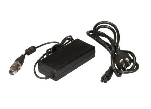 Pro 60-Watt  Video Audio 12V 5A DC Power Supply AC Adapter w/ 4-pin XLR cable