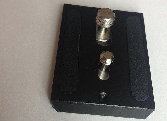 Sachtler Camera Plate for Video 14II, DV 2,DV 4 DV4II,DV 6, DV6SB, DV8+Srews all