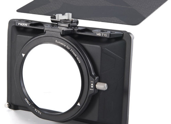 Tiltaing Mini Clamp-On Matte Box for bmcc a7ii a7r red dragon 5d 6d arri MB-T15