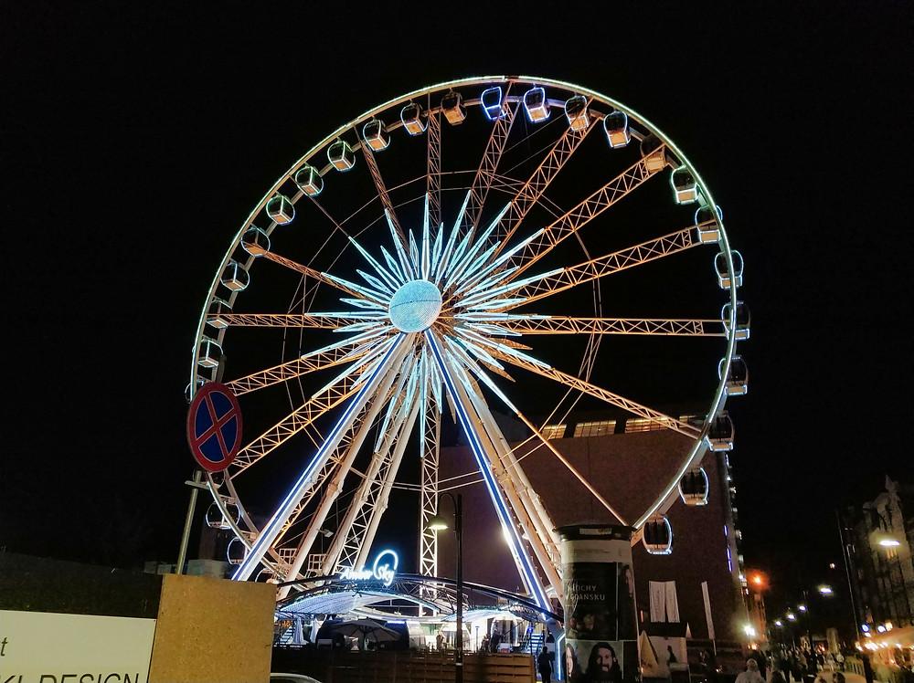 Amber Sky Ferry Wheel Gdansk
