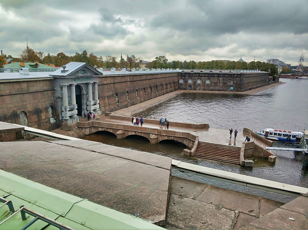 View from Peter and Paul Fortress wall