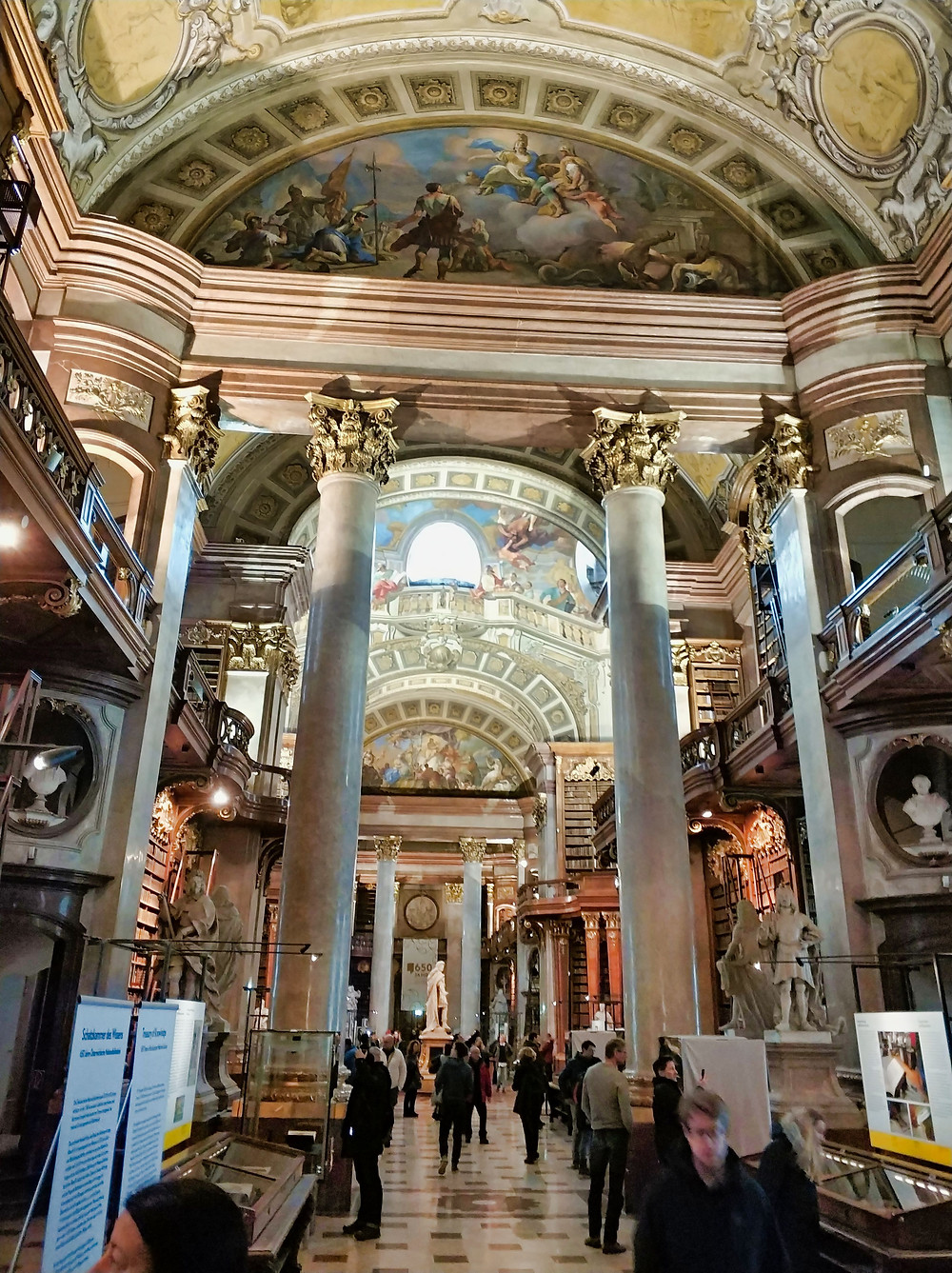 Austrian National Library State Hall Vienna