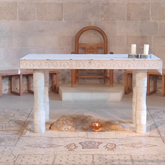 Tabgha – The Church of the Multiplication of the Loaves and Fishes