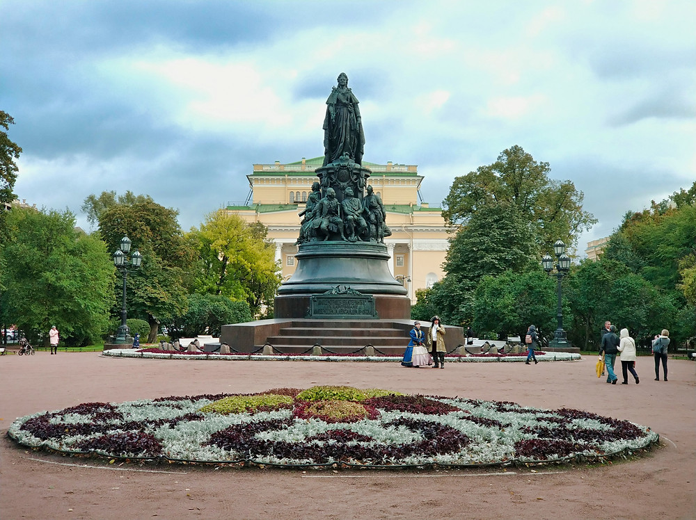 Catherine the Great Monument St. Petersburg