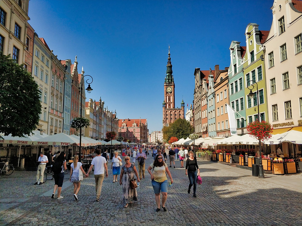 Gdansk Long Market Old Town