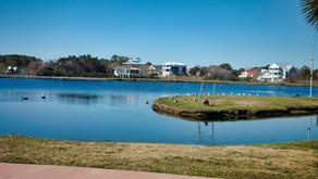 The Lake Park in Carolina Beach