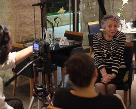 Avital Interviewing Bubi 2012 2.jpg